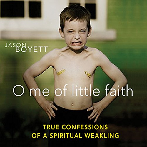 O Me of Little Faith audiobook cover art
