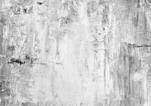 wandmotiv24 Fototapete Betonwand XXL 400 x 280 cm - 8 Teile Fototapeten, Wandbild, Motivtapeten, Vlies-Tapeten Wand, Beton, Grau M1473