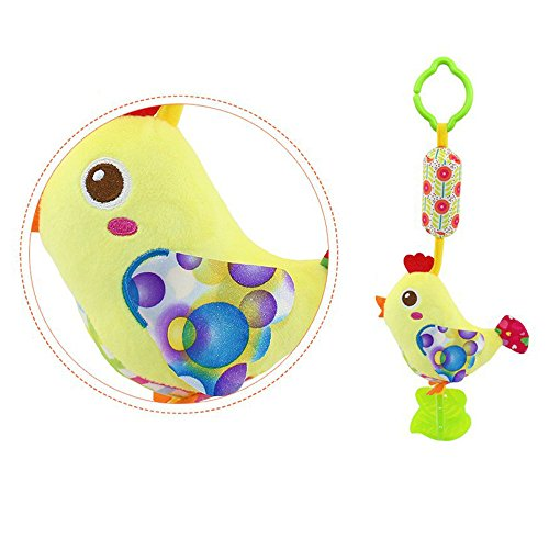 Lazzboy\'s Kinderwagen Hängen Bell Säuglingsbabyrassel Spielzeug Baby Auto Krippe ( A)