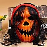 Silverdrew Máscara de Halloween, Terror Bloody Jason Voorhees Freddy Hockey Festival Party Mask,...