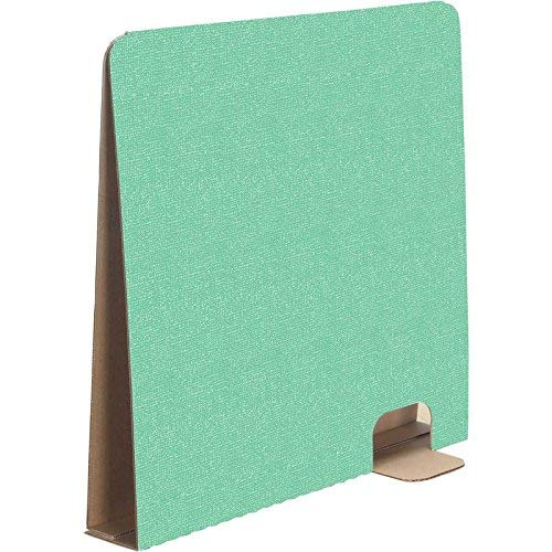 """Really Good Stuff Tall Privacy Dividers – Reduce Distractions During Tests or Assignments – Desk Privacy Shields are Ideal for Computer Activities and Digital Testing, 19"""" High, Green (Set of 12)"""