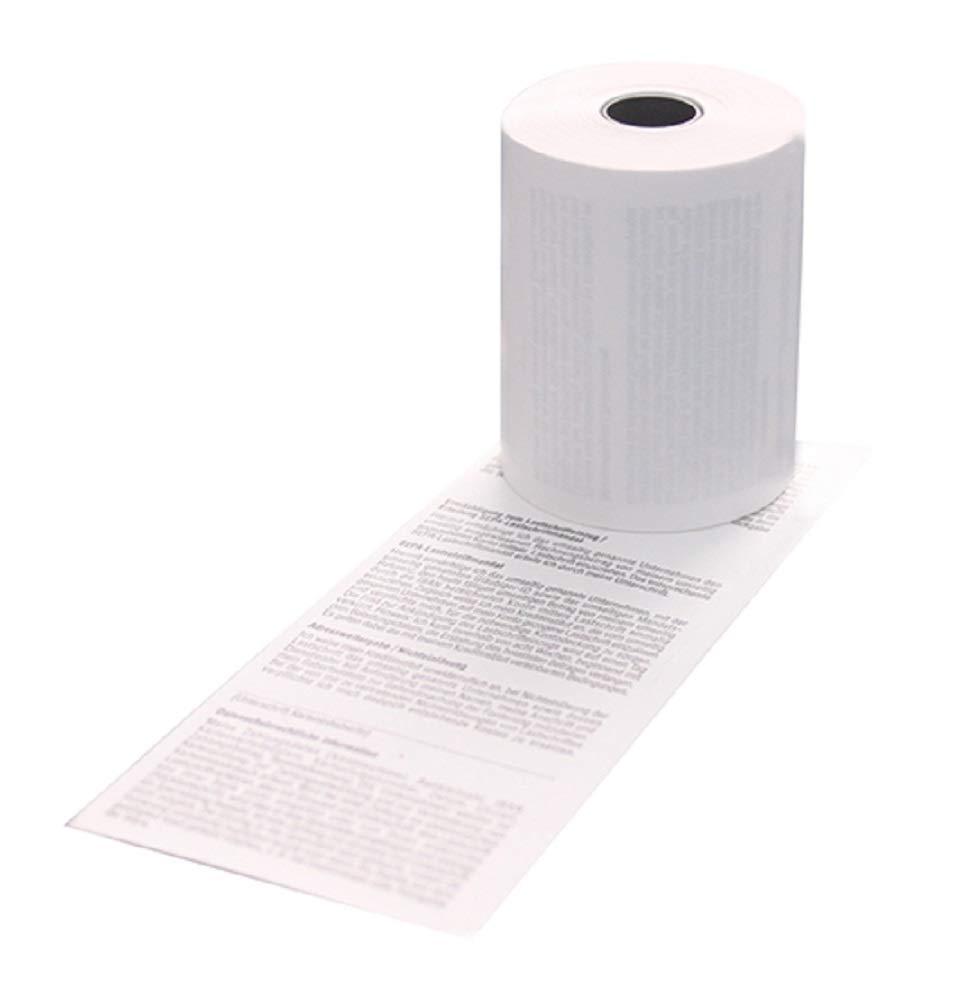 Rollo de CE-caja ICP tarjeta 3000 S SEPA Lastschrifttext - 50 ...