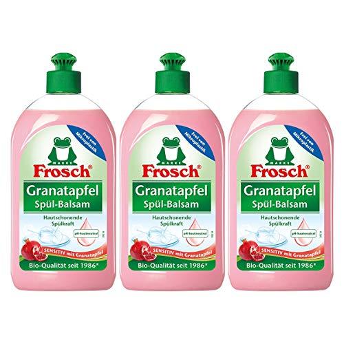 3x Frosch Granatapfel Spül-Balsam 500 ml
