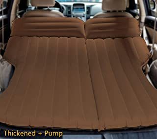 Galexbit Car Travel Inflatable Mattress SUV Air Mattress Backseat Extended Cushion Perfect for Camping or Travel