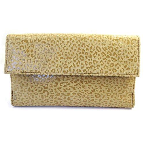 Compagno di pelle 'Frandi'cammello (leopard).