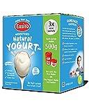 3PACK natur Geschmack Easiyo Vegetarisch Joghurt Mix, um je 500g