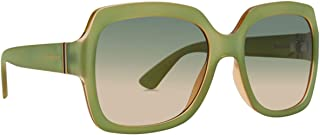 VonZipper Women's Dolls Sunglasses,OS,Glow Seafoam/Bronze