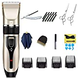 Hair Clippers for Men, AEPLPY Professional Hair Trimmer Clipper Quiet Cordless Hair Cutting