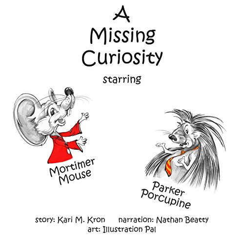 A Missing Curiosity audiobook cover art