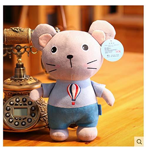 Morbido Simpatico Topo Gatto, Peluche Topo Bambola Gatto, Serie Gatto E Topo Bambola Regalo Di Compleanno 25 Cm