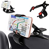 DFV mobile - Car GPS Navigation Dashboard Mobile Phone Holder Clip for Vodafone Smart Mini 7 - Black