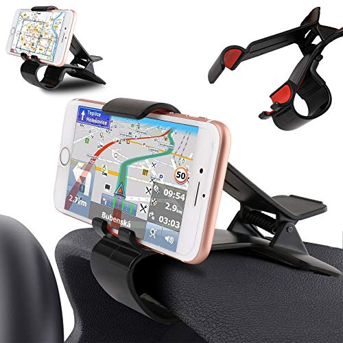 DFVmobile - Car GPS Navigation Dashboard Mobile Phone Holder Clip for Xgody Y14 - Black