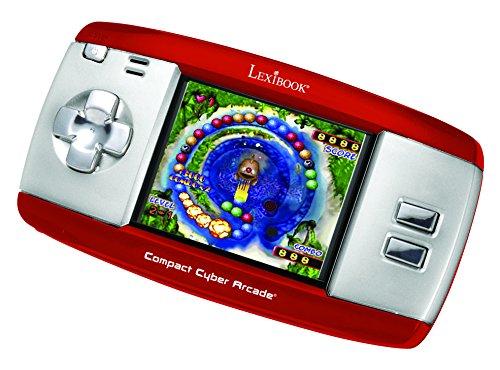 Lexibook JL2374RD - Compact Cyber Arcade, rot