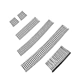 6 Pcs U Shape Wavy Hair Finishing Fixer Comb, Hair Pins for Buns, Invisible Hair Holder, U Pin Hair Clips, Bobby Pins, Mini Bangs Hair Updo Accessories for Small Broken Hair, Thin hair, Thick Hair, Hair Styling Tools for Girls and Women (6PCS)