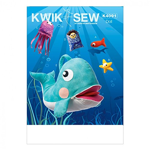 KWIK SEW Kinder 'S Easy Schnittmuster 4091Jona und Wal Toys