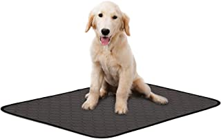 Lokyee Washable Dog Training Pads Reusable Puppy Pee Pad Fast Absorb Mat with Waterproof Non-Slip Bottom for Dogs Indoor Outdoor Car Travel