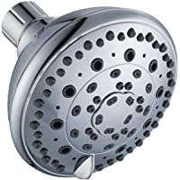 Glacier Bay 6-Spray 4 in. Showerhead in Chrome