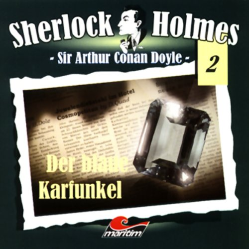 Der blaue Karfunkel audiobook cover art