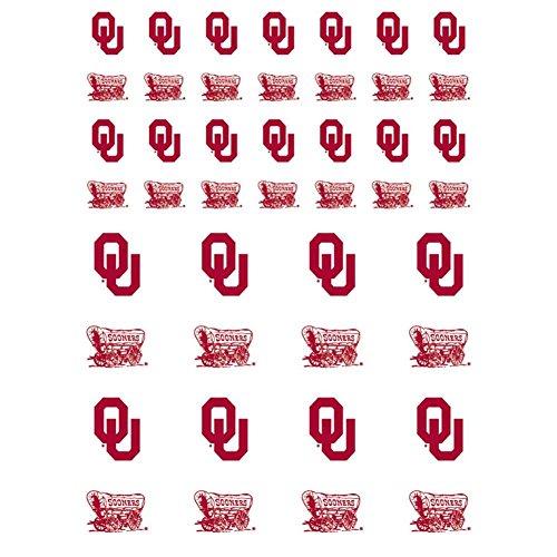 Oklahoma Sooners Small Sticker Sheet - 2 Sheets