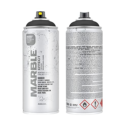 Montana Cans Montana Effect 400 ml Marble Color, Black Spray Paint