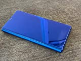Samsung Galaxy Note 9 Case, S-View Flip Cover with Kickstand (Renewed) (Ocean Blue) - EF-ZN96