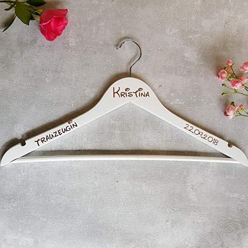 Kleiderbügel mit Rose Gold für Braut, Brautjungfer, Trauzeugin, etc für Hochzeitstag