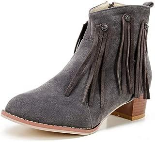 BalaMasa Womens ABS13906 Pu Boots