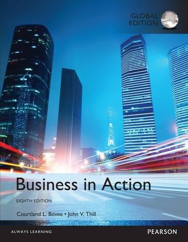 Bovee, C: Business in Action, Global Edition