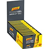 PowerBar PowerGel Shots Orange 16x60g - Gomas de Alta Energía de Carbono + C2MAX Magnesio y Sodio