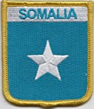 1000 Flags Somalia Flagge Bestickt Patch Badge