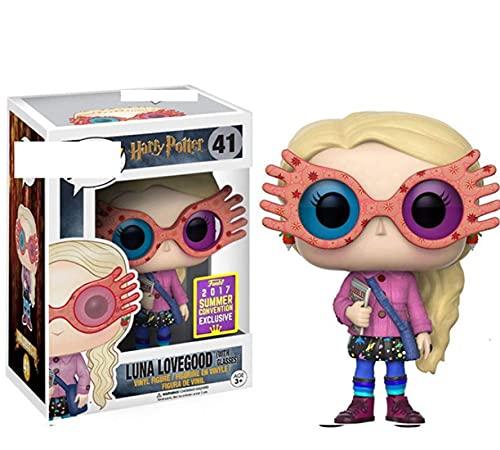 Juguetes Pop Personaje De Película Chica Extraña Luna Lovegood con Gafas Muñecas De Dibujos...