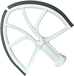 Beater Blade for KitchenAid 6-Quart Bowl Lift Stand Mixer,Plastic Flat Beater Paddle with Silicone Edges,Kitchenaid Accessory