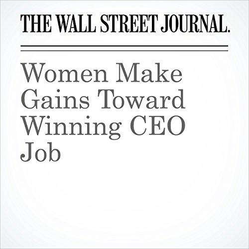 Women Make Gains Toward Winning CEO Job copertina