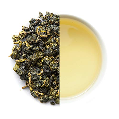Four Seasons Oolong Taiwanesischer Tee - Si Ji Chun Oolong-Tee direkt vom Bauern aus Taiwan - cremig weich & erfrischend (100 Gramm)
