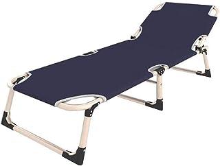 FTFTO Produits ménagers lit Pliant lit Simple Bureau Pause déjeuner lit Sieste lit Adulte Toile lit Camp lit Simple escort...