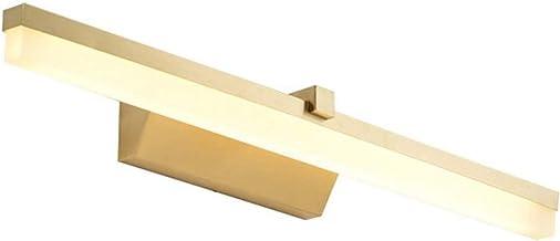 Spiegellamp LED Spiegel Koplamp Badkamer Modern, Bad Wandlamp Make-upspiegel Licht Nordic Eenvoudige Stijl Geometrie Messi...