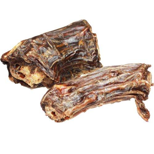 Schecker DOGREFORM Straußenhälse das Dörrfleisch ist knackig knusPrig und super-fleischig ohne jedliche Chemie oder Konservierungstoffe für allergiebelastete Hunde