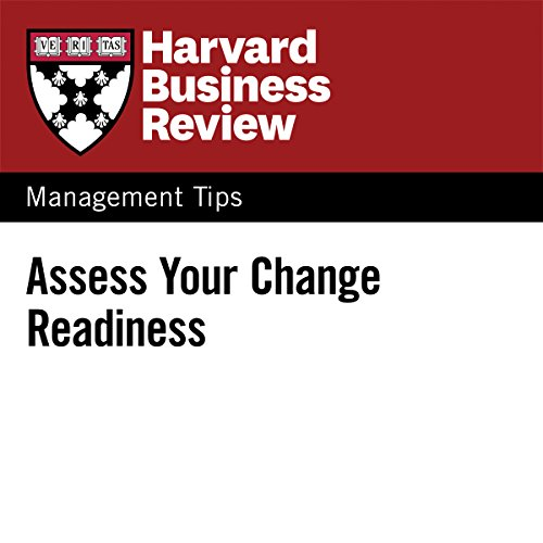Assess Your Change Readiness audiobook cover art