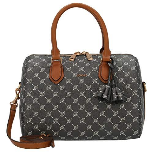 Joop! Damen Cortina Aurora Handbag Shz Henkeltasche, Grau (Darkgrey), 21x18x30 cm