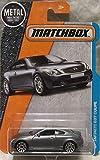 Matchbox, 2016 MBX Adventure City, Infiniti G37 Coupe [Silver] #32/125