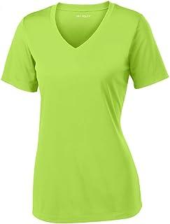 Joe's USA Women's Short Sleeve Moisture Wicking Athletic Shirts in Sizes XS-4XL