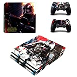 Ps4 Pro Sticker Full Body Vinyl Skin Decal Cover for Playstation 4 Console Controller Star Wars I Remake