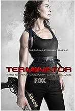 Terminator: The Sarah Connor Chronicles 8x10 Photo Lena Headey FOX Ad