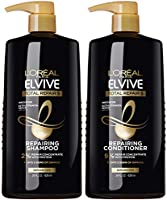 L'Oreal Paris Elvive Total Repair 5 Repairing Shampoo and Conditioner for Damaged Hair, Shampoo and Conditioner Set with...