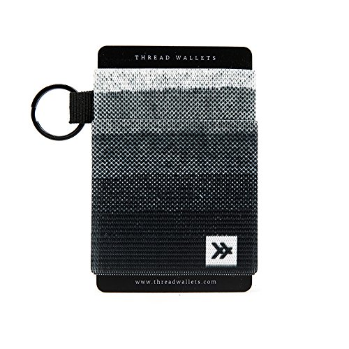 Thread Wallets - Slim Minimalist Wallet - Front Pocket Credit Card Holder for Men (One Size, Bonsai)