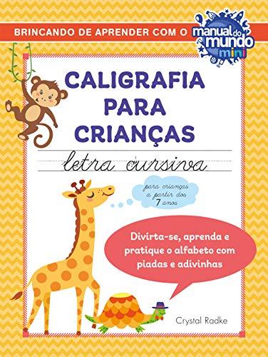 Caligrafia para crianças: letra cursiva
