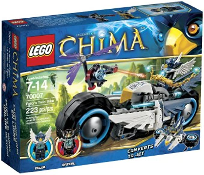LEGO Chima 70007 Eglors Twin Bike