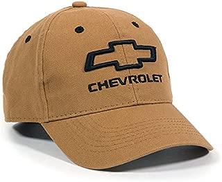Outdoor Cap Chevrolet Structured Canvas Cap, Brown