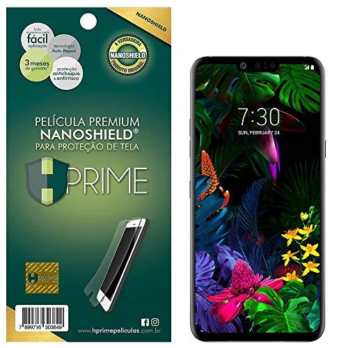 Pelicula NanoShield para LG G8 ThinQ, Hprime, Película Protetora de Tela para Celular, Transparente