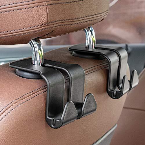 Headrest Hooks for Car, Car Purse Hook, Purse Holder for Car, Multifunctional Universal Car Headrest Hook Capable of Holding Mobile Phones